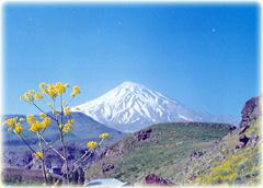 Damavand peak  Iran