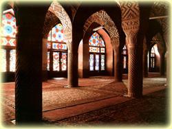 Nasir almolk mosque shiraz
